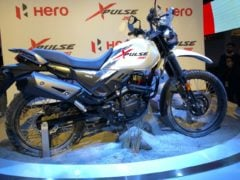 hero xpulse india debut at auto expo 2018