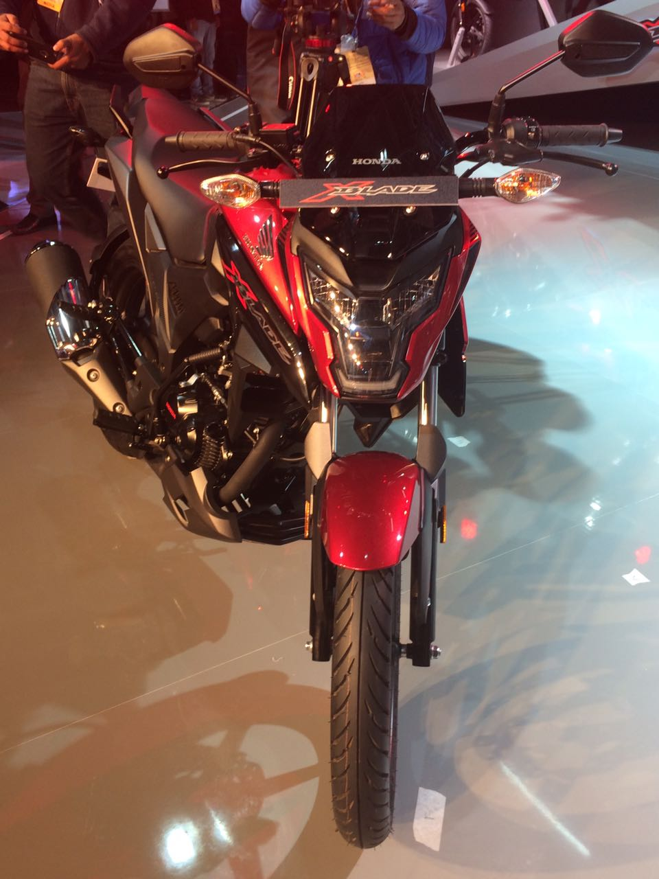 Honda Xblade Images Auto Expo on Engine Exhaust