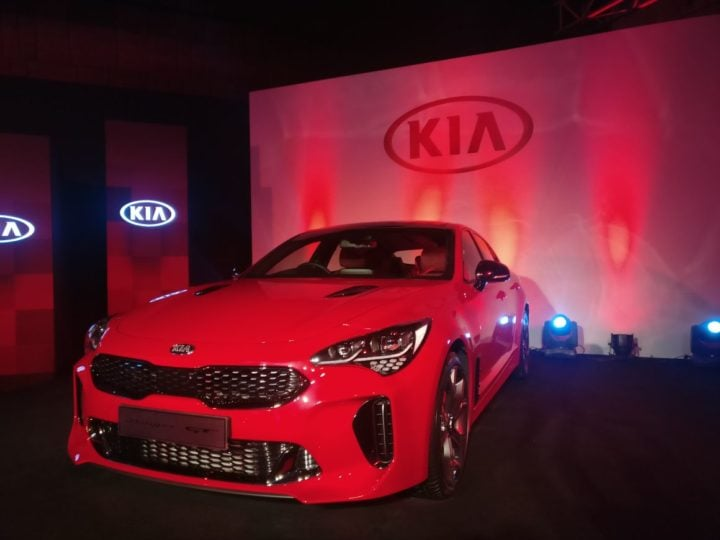 kia stinger india