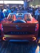 Mahindra Stinger Convertible SUV Images