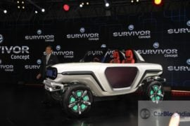 maruti e survivor all new gypsy images