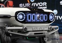 maruti e survivor all new gypsy images front