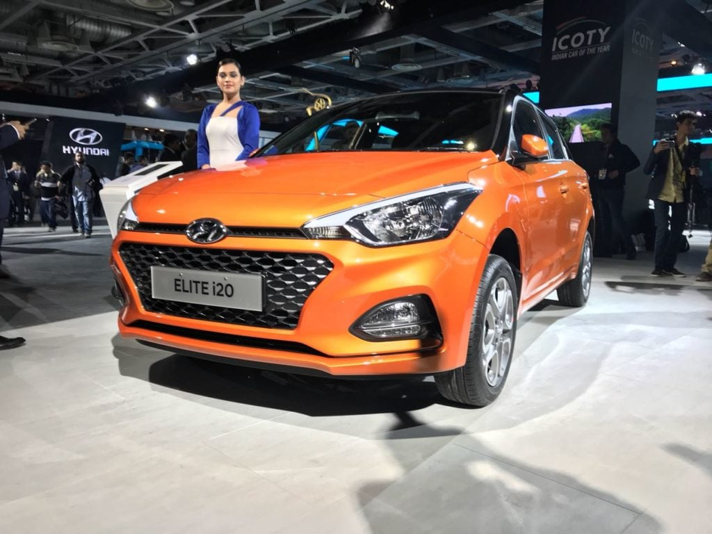 New 2018 Hyundai Elite I20 Launched At Auto Expo 2018