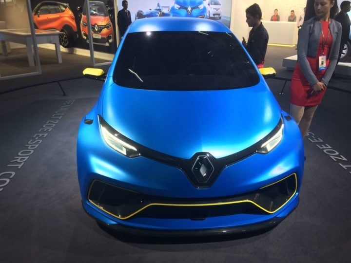 renault zoe images front