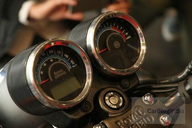 royal enfield thunderbird 350x wheels instrument cluster profile