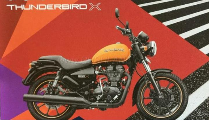 2018 Royal Enfield Thunderbird 350X And 500XS Brochure Leaked
