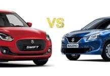 2018 Maruti Suzuki Swift Vs Baleno main