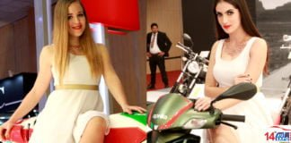 show babes at auto expo 2018