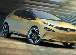 tata 45x premium hatchback concept front profile