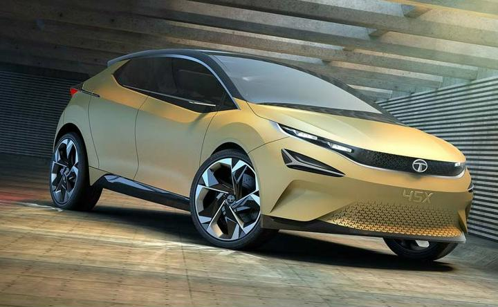 Tata 45X Premium Hatchback Concept New Details and Images revealed- To Rival Maruti Baleno and Hyundai I20