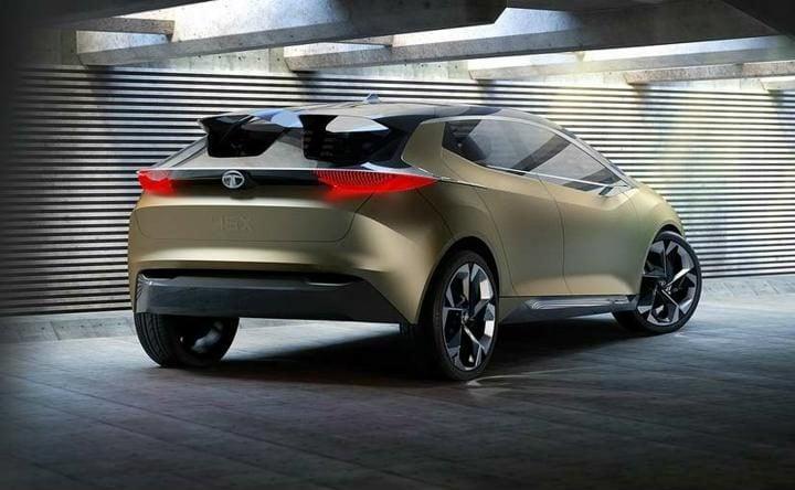 tata 45x premium hatchback concept rear facia