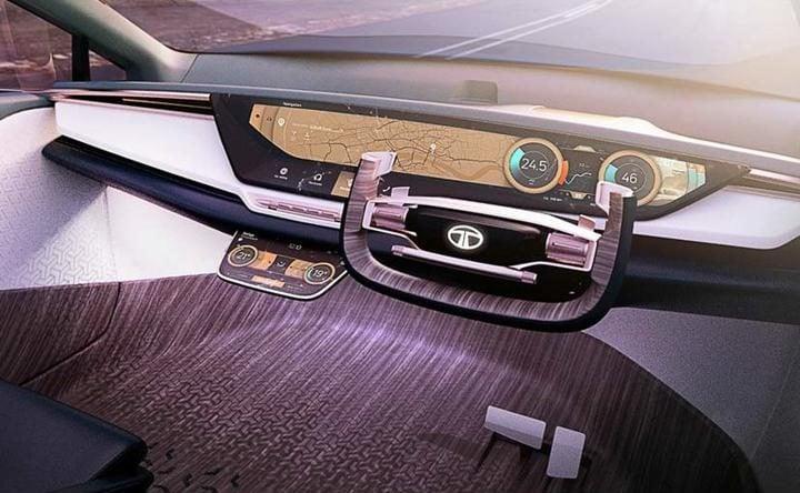 tata 45x premium hatchback concept interior