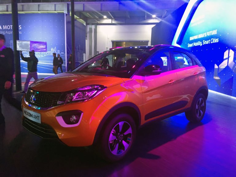 Tata Nexon AMT Launch Soon, Bookings Open