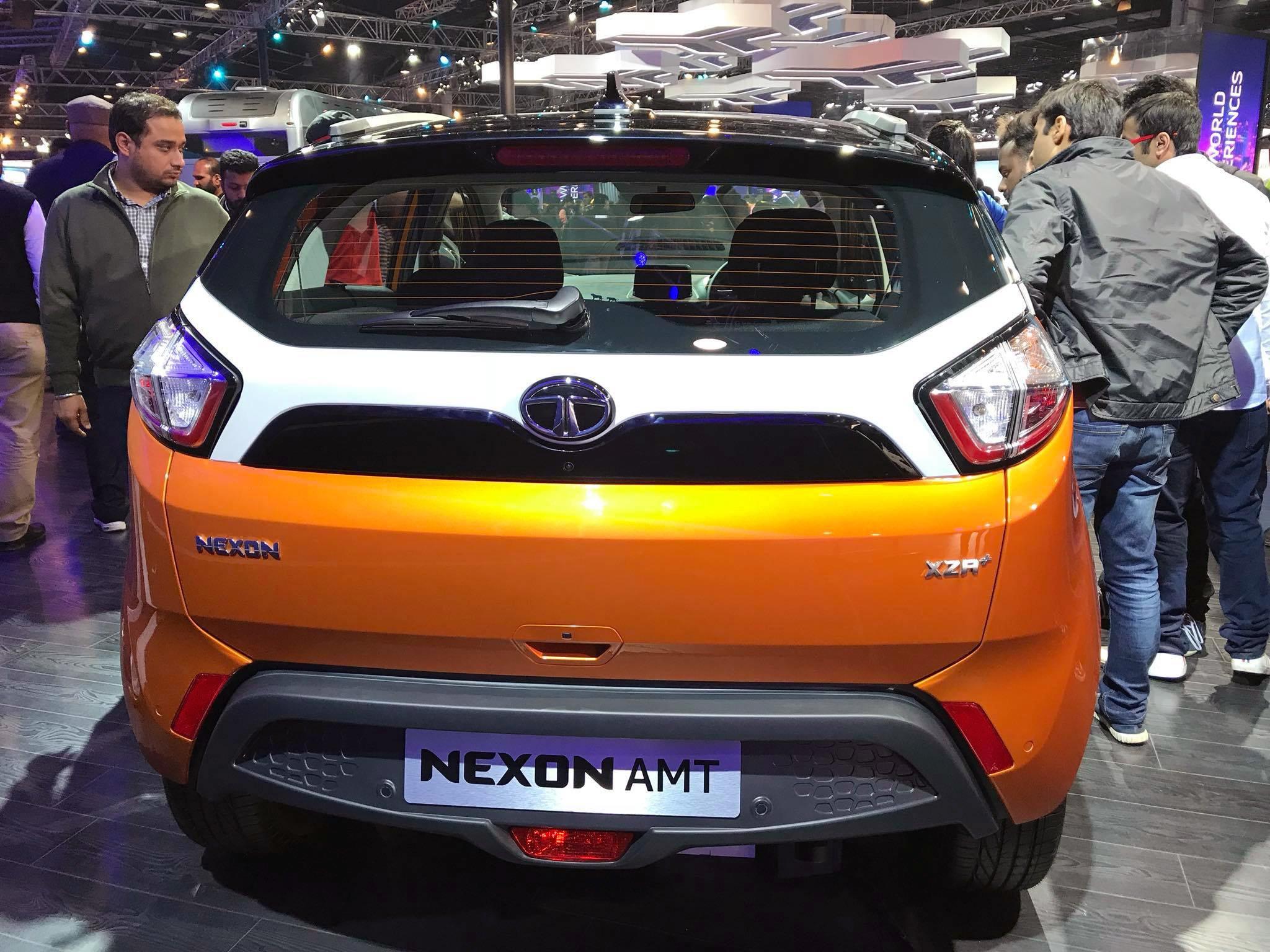 Tata Nexon AMT To Launch Soon, Bookings Open