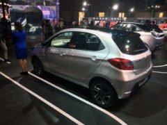 tata tiago electric vehicle images rear angle