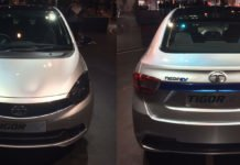 tata tigor electric vehicle images front rear