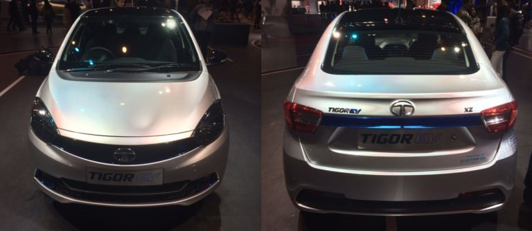 Tata Tigor Electric Debuts at Auto Expo 2018 – Images & Details