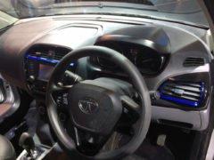 tata tigor electric vehicle images interior