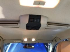 toyota yaris roof mounted ac vents