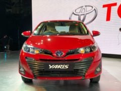 Upcoming Cars in India 2018 toyota yaris red