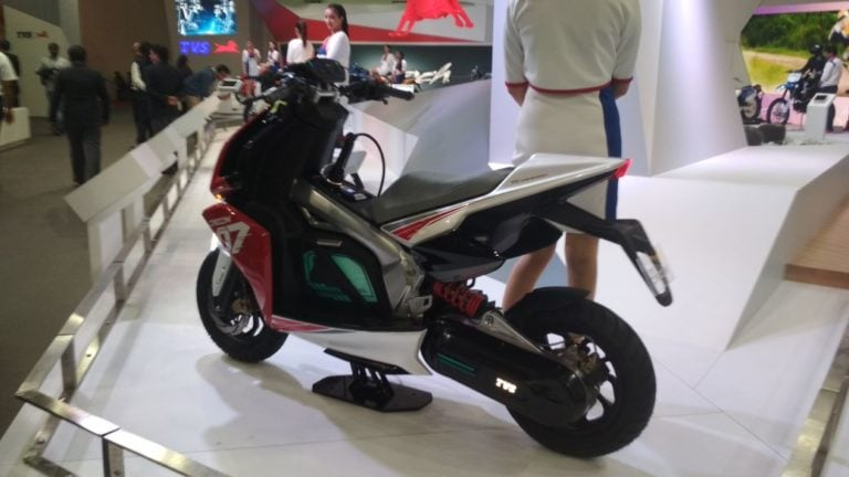 First TVS Electric Vehicle Launching In FY 2019-20