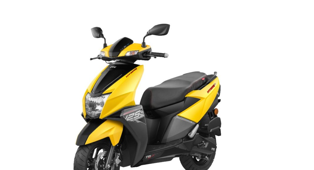 tvs ntorq 125 cc automatic scooter images