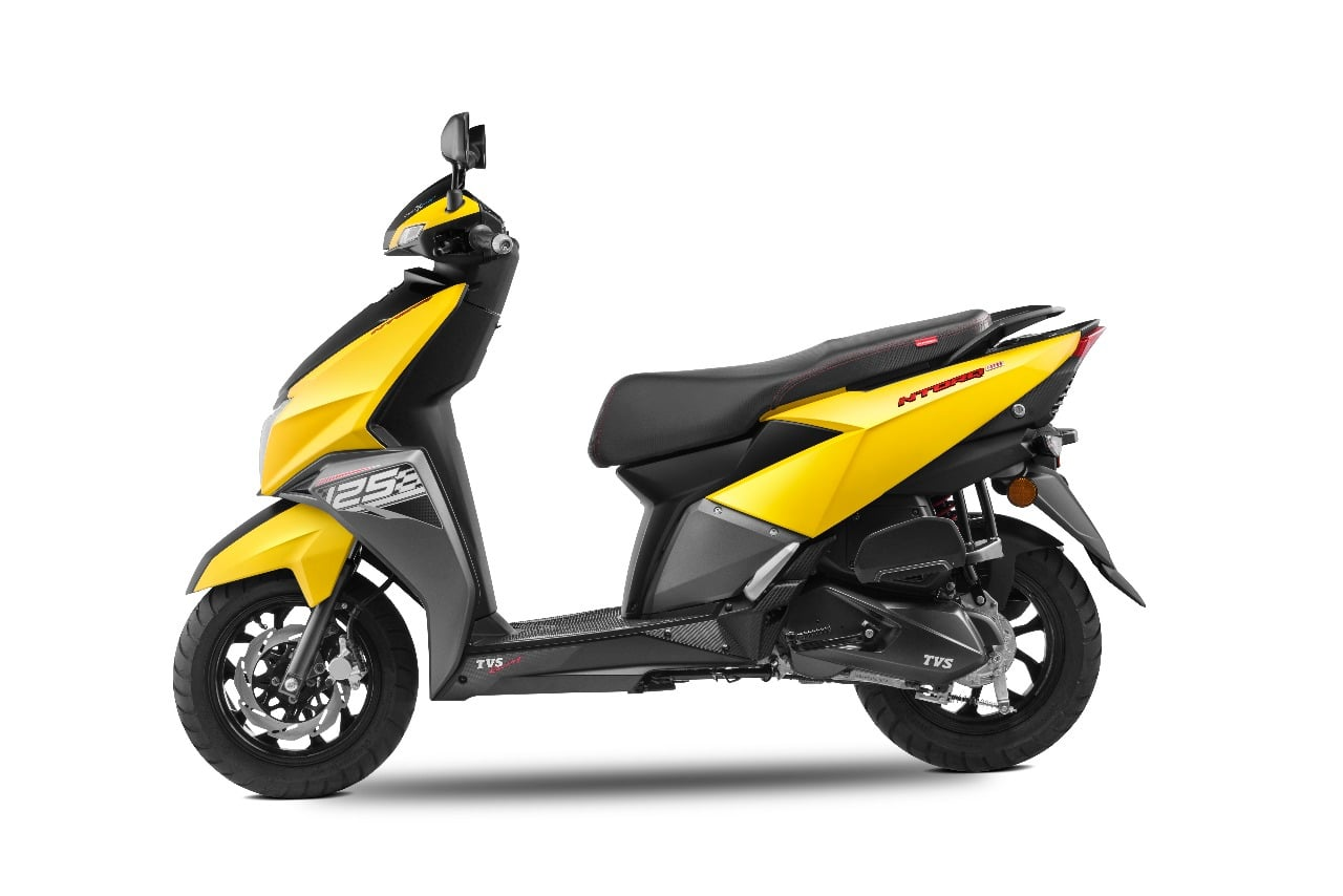 Smart Car Engine >> TVS Ntorq 125 cc Automatic Scooter Launched, Price - Rs 58,750