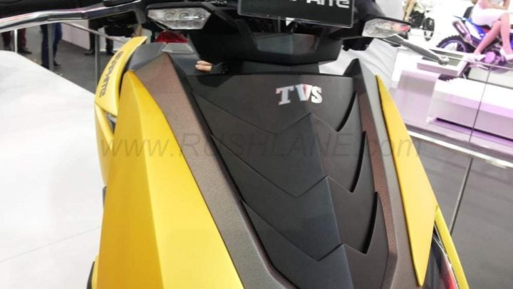 tvs proto electric scooter images front apron