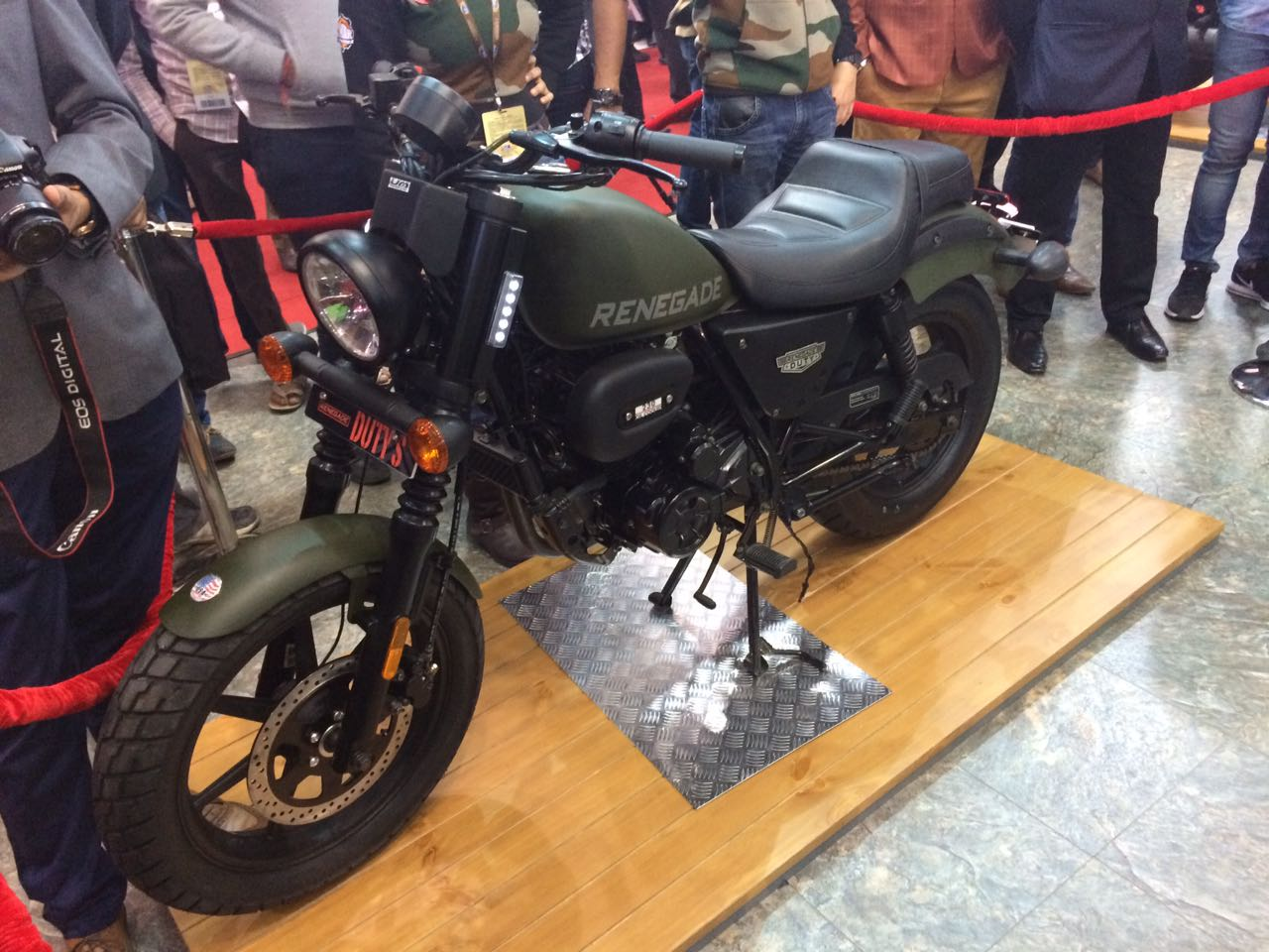Um Renegade Duty S And Duty Ace Launched At Auto Expo 2018