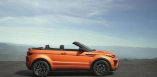 16_Range Rover Evoque Convertible profile