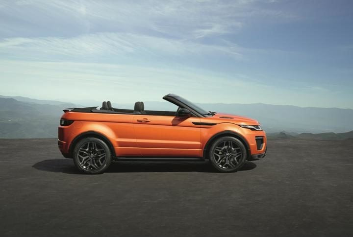 16_Range Rover Evoque Convertible profile