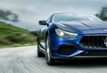 2018 Maserati Ghibli Front