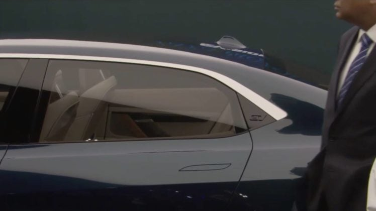 2018 Geneva Motor Show Tata E-Vision Concept 2