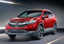 2018 Honda CR-V Exterior Front Profile