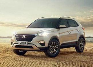 2018 Hyundai Creta Facelift Front Profile