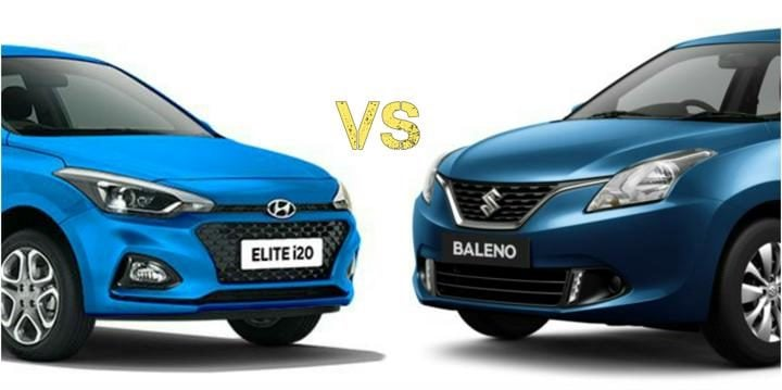 2018 Hyundai Elite i20 Vs Maruti Baleno Comparison