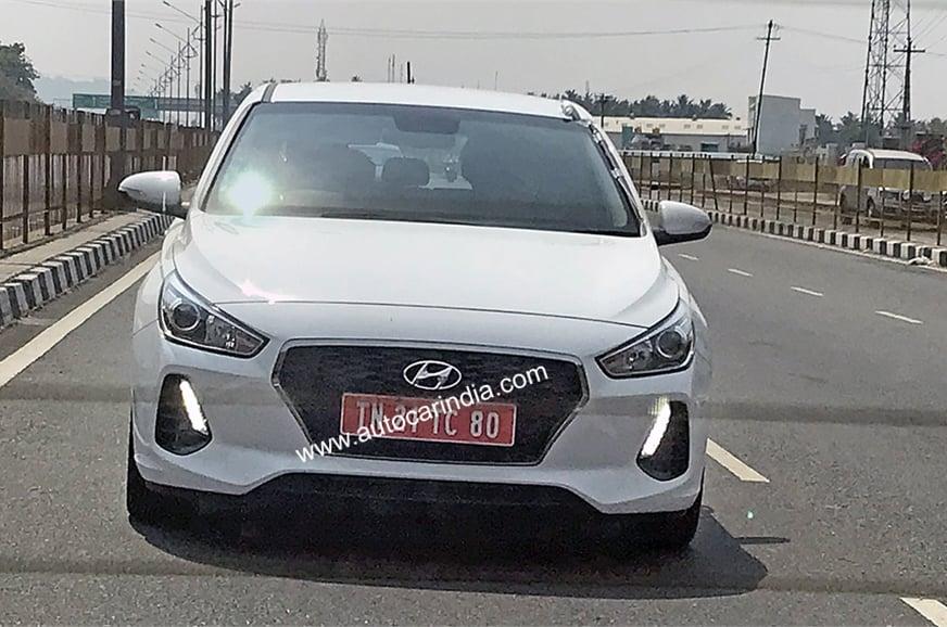 2018 Hyundai i30 Spyshot 2