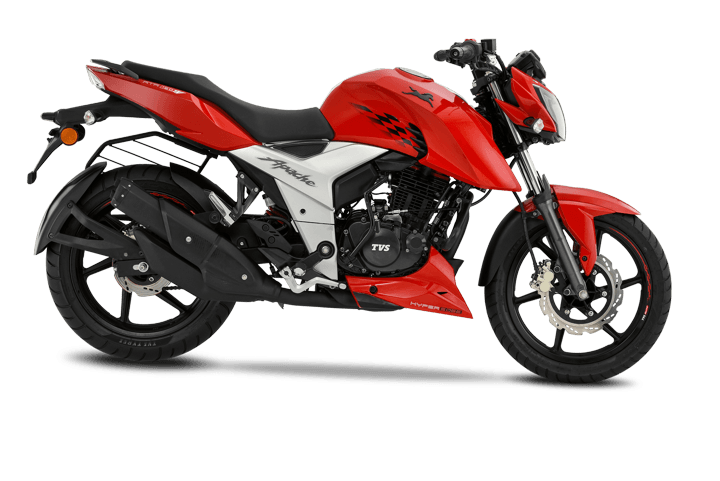 TVS Apache RTR 160 still remains the best selling sporty commuter bike