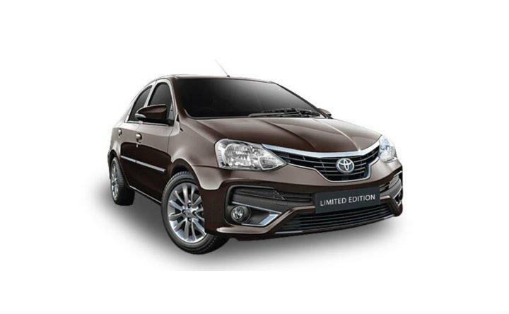2018 Toyota Etios Platinum Edition