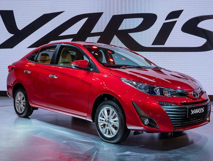 2018 Toyota Yaris Front Profile