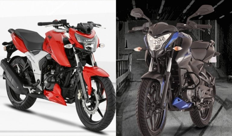 Street-Naked Fight – Apache RTR 160 vs Pulsar NS160