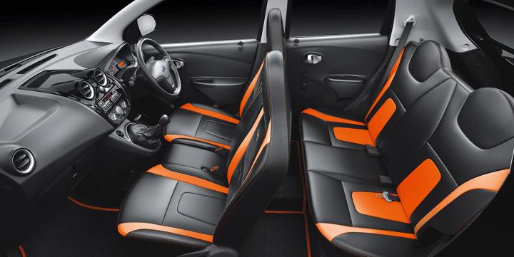 Datsun GO Remix- Interiors Cabin