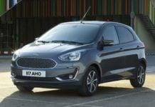 Ford Figo facelift Front profile