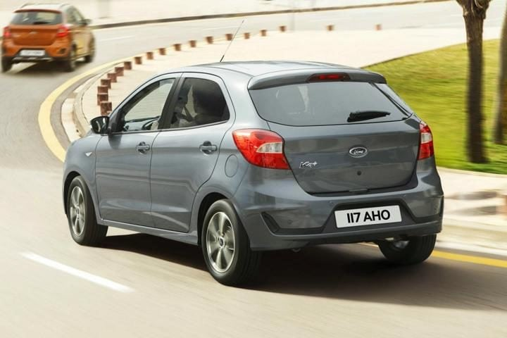 Ford Figo facelift rear profile
