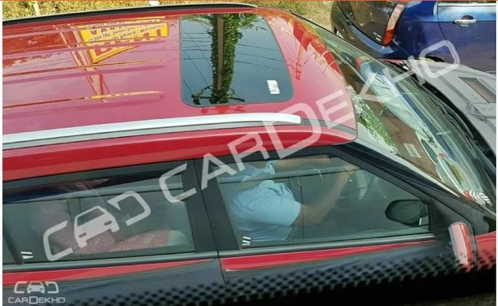 Hyundai Creta Facelift Sunroof Picture