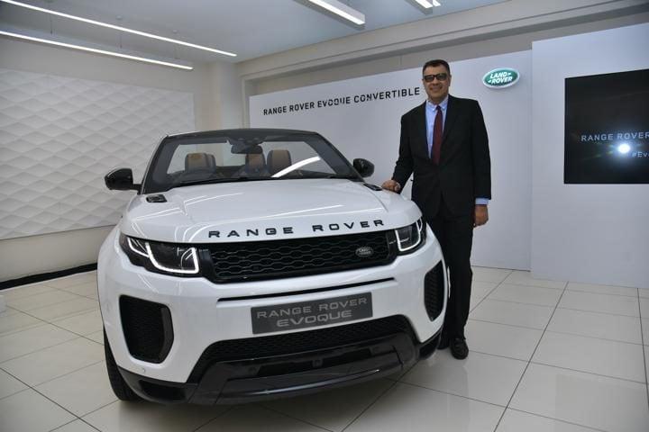 Rane Rover Evoque Convertible  front