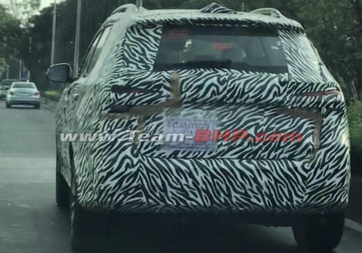 MG RX5 Spied