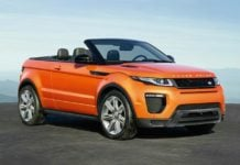Range Rover Evoque Convertible Profile