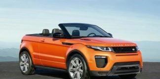 Range Rover Evoque Convertible Profile