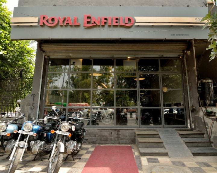 Royal Enfield Dealership Soni Automobiles